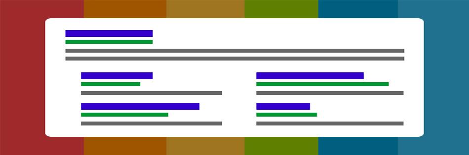 ویژگی ها و فواید استفاده از افزونه Sitelinks در گوگل ادوردز :