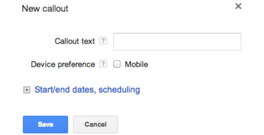 نکات و ترفندهای افزونه callout در گوگل ادوردز: