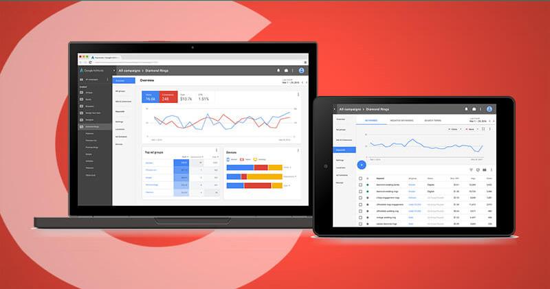 قابلیت های افزوده شده به رابط کاربری جدید گوگل ادوردز