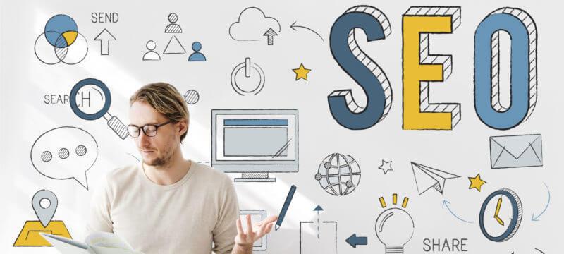 بهینه سازی سایت برای موتورهای جستجو (SEO) :