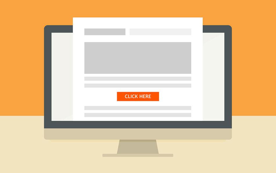 6- قراردادن کلید برای کلیک کاربران
