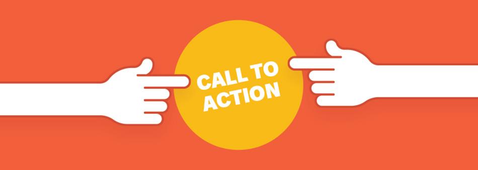 """عبارات call-to-action به مواردی گفته می شود که در طراحی یک بنر مورد استفاده قرار میگیرد و کاربر با مشاهده آن، به انجام یک عمل ترغیب و تشویق می شود. به عنوان مثال در مورد بنری که در رابطه با یک سایت دانلود فیلم می باشد، عبارت call-to-action می تواند شامل مواردی مانند : """"همین الان دانلود کنید"""" ، """"دانلود رایگان"""" ، """"خرید قسمت آخر"""" و… باشد. متأسفانه بسیاری از طراحان بنر و تبلیغات بنری، اثربخشی این عبارات را نادیده گرفته و تمایلی به قرار دادن آنها در محتوای بنر خود ندارند. با توجه به اینکه کاربران آنلاین عمومأ تمایل دارند به سادگی به هدف خود برسند و در این راه نیز می بایست ناوبری و هدایت آنها کاملأ شفاف صورت گیرد، قرار دادن این عبارات در محتوای بنرها می تواند بسیار مفید باشد."""