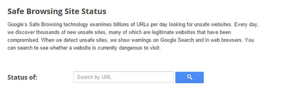 رفع malware از طریق گوگل ویمستر تولز