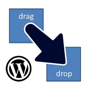 صفحه ساز Drag and Drop وردپرس