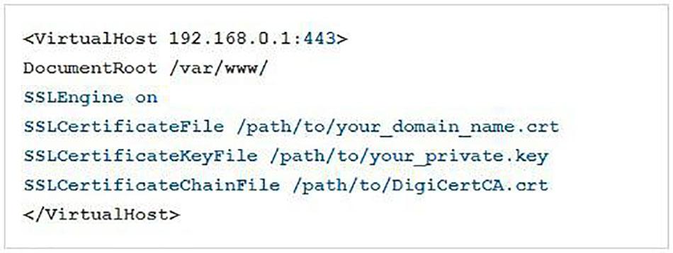 گواهینامه SSL در سرور آپاچی