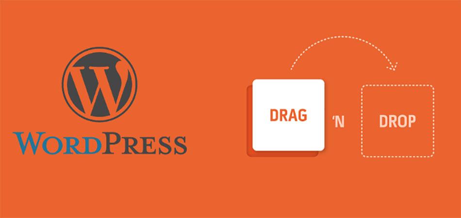 صفحه ساز Drag and Drop برای وردپرس