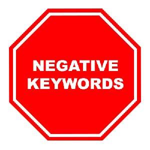 کلمات کلیدی منفی برای تبلیغ در گوگل