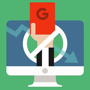 تشخیص و رفع پنالتی شدن سایت توسط گوگل