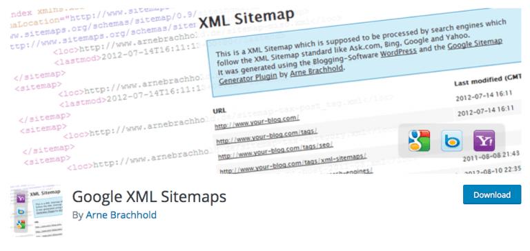 پلاگین Google XML Sitemaps