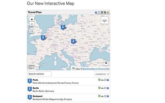نمایش نقشه تعاملی در وردپرس با افزونه