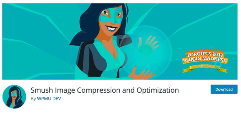 پلاگین Smush Image Compression