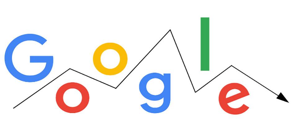 افت رتبه سایت در گوگل