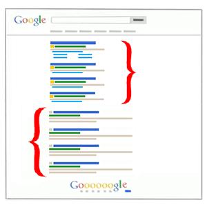 تفاوت سئو و تبلیغات در گوگل