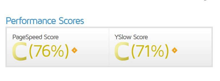 سرعت سایت در جی تی متریکس