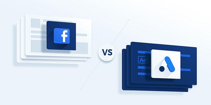 مقایسه تبلیغات در فیسبوک و تبلیغات در گوگل