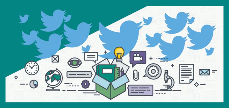 ابزارهای twitter
