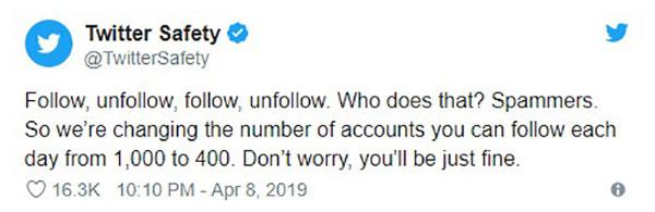توییت اکانت Twitter Safety