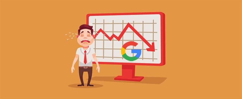 بالا و پایین شدن ناگهانی رتبه سایت در گوگل