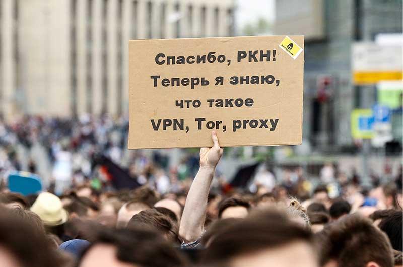 مسدود کردن vpn ها در روسیه