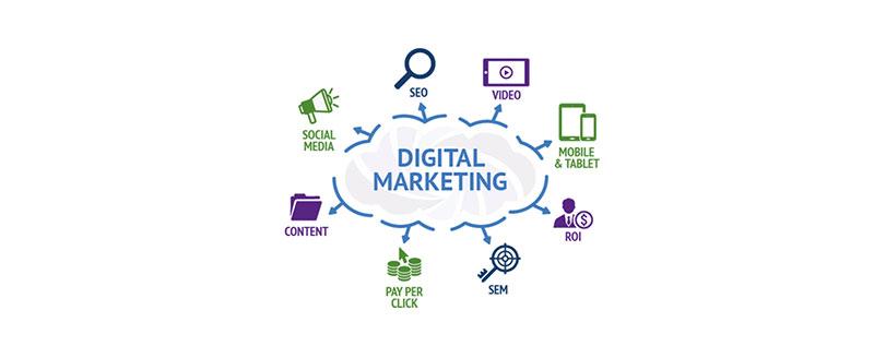 کانال های تبلیغات دیجیتال در زمینه دیجیتال مارکتینگ