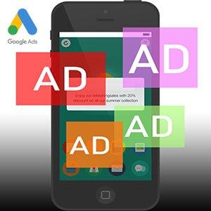 تبلیغ اپلیکیشنی گوگل در دیوایس های iOS