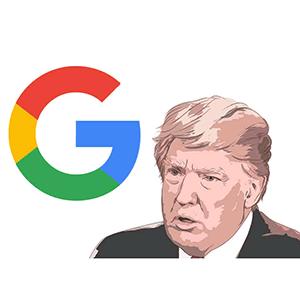ترامپ و گوگل