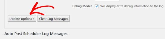 update auto post scheduler options