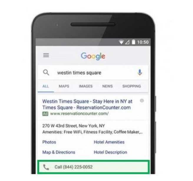 حذف افزونه پیام (Message Extensions) از گوگل ادز