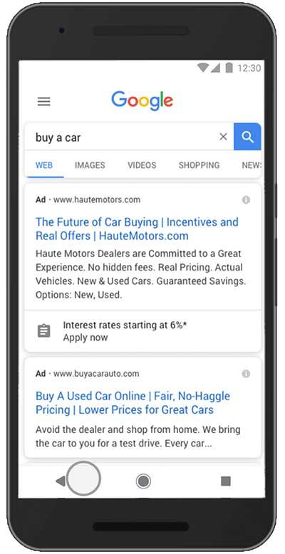 افزونه Lead Form گوگل ادز