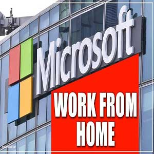 دورکاری در مایکروسافت به خاطر کرونا