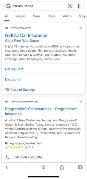 فرمت جدید تبلیغات در گوگل