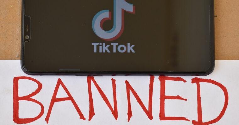 ممنوعیت تیک تاک در آمریکا
