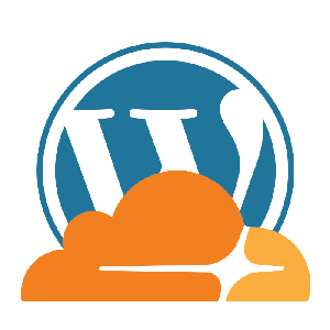 cloudflare wordpress logo