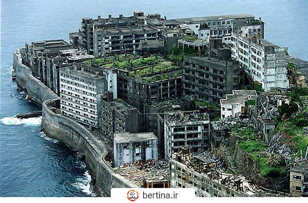 جزیره جنگی متروکه هاشیما ژاپن