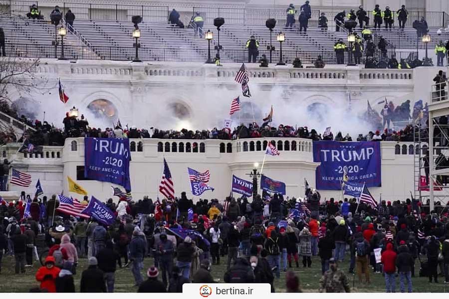 اعتراضات حامیان ترامپ
