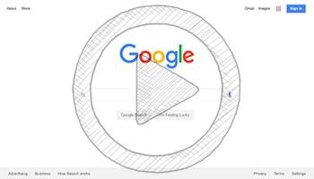 صفحه اصلی موتور جستجوی گوگل