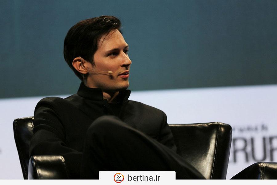 پاول دوروف مدیرعامل تلگرام