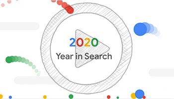 آمار سرچ کاربران گوگل در سال 2020