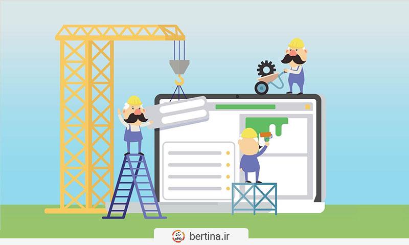 طراحی سایت با سایت ساز