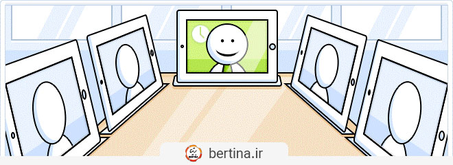 جلسه آنلاین در دوران کرونا