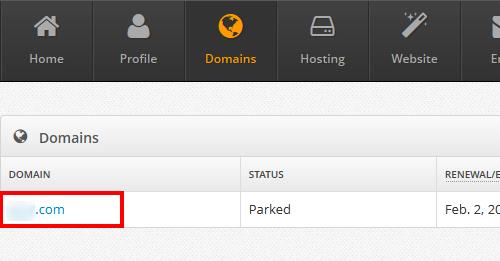 Click-Domain-Name