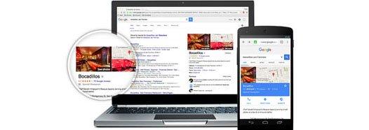 قرار گرفتن در نتایج جستجو گوگل